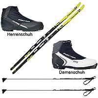 Langlaufski-Set Fischer ORBITER + Bindung + Schuhe + Stöcke Nordic Cruiser