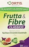 Ortis Transito intestinale Frutta e Fibre Classico, 30compresse