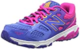 New Balance Unisex Kids' Kr680npy-680 Training Running Shoes, Blau / Pink, One Size