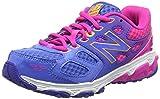 New Balance Unisex Kids' Kr680npy-680 Training Running Shoes, Blau / Pink, One Size