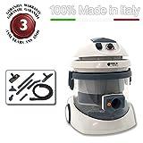 EOLO ASPIRAPOLVERI ASPIRALIQUIDI ASPIRASOLIDI ASPIRATUTTO completo di accessori e sistema filtrante ad acqua LP23 MADE IN ITALY