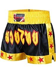 De BOXE Muay Thai Kickboxing Short d'entraînement de Boxe MMA Short pour homme