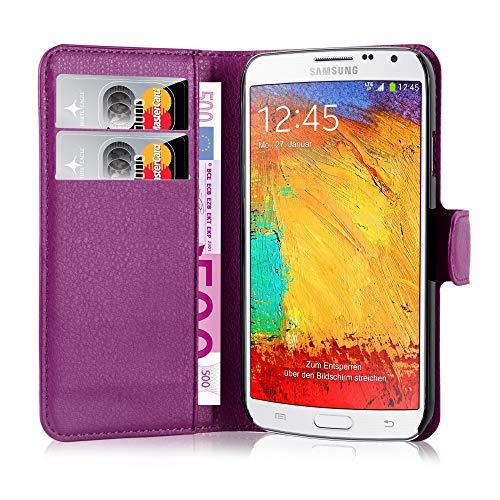 Cadorabo Hülle für Samsung Galaxy Note 3 NEO in Mangan Violett