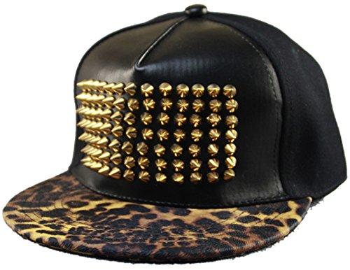 Belsen - Gorra de béisbol - para hombre leopardo Talla única