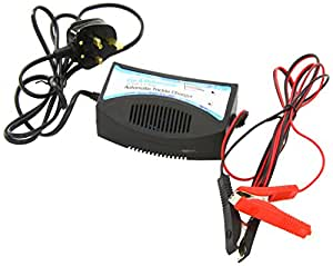 Streetwize Car & Motorcycle Automatic Trickle Battery Charger for Gel / Lead Acid Batteries 12 V