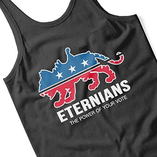 Vote Eternians Battle Cat He Man Men's Vest Black
