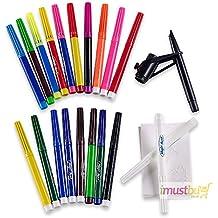 iMustbuy - Juego de rotuladores mágicos (el color se borra con el rotulador de color blanco, 20 unidades)