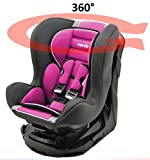 Kinderautositz REVO 360° drehbar und neigbar - gruppen 0+/1-4 farben - Framboise