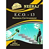 #6: ECO13-Business Environment (IGNOU help book for ECO-13 in English Medium)