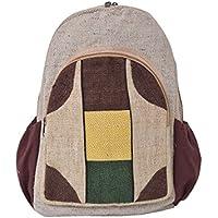 d1d34d0d31 virblatt – zaino casual etnico per l'uomo e per la donna hemp backpack–