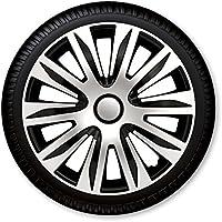 Daihatsu 4x RADKAPPEN 14 Zoll Nardo schwarz//silber