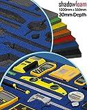 Blaue Schatten-Instrument–Organiser.–Britool und Draper blau | Werkzeugkoffer, Auto-Organizer, blau