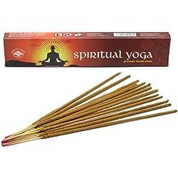 Green Tree Incienso, Spiritual Yoga, 1 boite