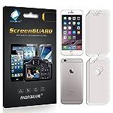6 x (3 x Fronte e 3 x Retro) Membrane Pellicola Protettiva Apple iPhone 6 / 6S 2015 (4.7) - Trasparente, Confezione ed accessori