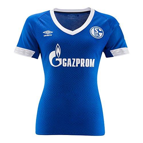 Umbro FC Schalke 04 Trikot Home 2018/2019 Damen 36 EU - 10 UK
