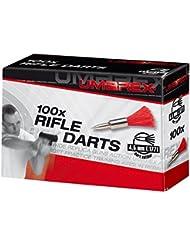 Umarex – Dardos para pistola de aire comprimido (calibre 4,5 mm, 100 unidades) (100 unidades, largo del 9)