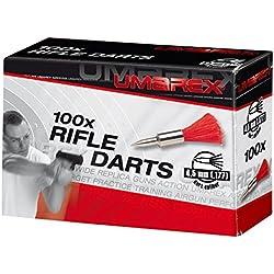 Umarex Fléchettes 4.5mm (.177) réutilisables (x10) Adulte Unisexe, Gris, Taille unique