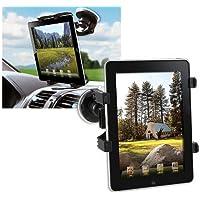 Techly Supporto Universale da Auto con Ventosa per Tablet 7-10.1