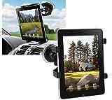 Techly Supporto Universale da Auto con Ventosa per Tablet 7-10.1'