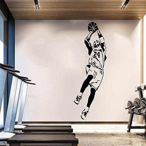 Dongwall NBA Kobe Bryant Tapete Basketball Player Wandaufkleber Steuern Dekorationen Fan Geschenke...