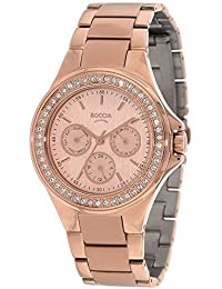 Transparente para mujer-reloj analógico de cuarzo Titan 3758-02