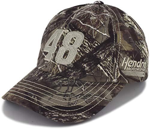 Checkered Flag Jimmie Johnson 2019 TrueTimber Camo 48 NASCAR Hut -