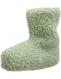Woolsies Unisex-Erwachsene Yeti Natural Wool Hohe Hausschuhe
