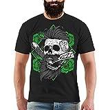 Männer und Herren T-Shirt Hipster Größe S bis 8XL