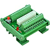 ELECTRONICS-SALON montaje en carril DIN 24/20-Pins ATX DC fuente de alimentación Placa de memoria.