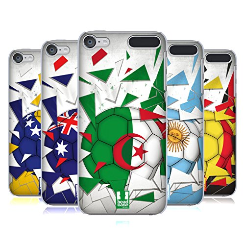 Head Case Designs Ballon De Football Étui Coque D'Arrière Rigide pour Apple iPod Touch MP3
