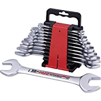 Pard pac5111professionale doppio Open End Wrench Set, colore: nero/rosso (11)