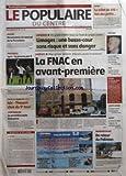 POPULAIRE DU CENTRE (LE) [No 245] du 20/10/2005 - JUSTICE - LE BILLET DE 100 +ä FAIT DES PETITS - RUGBY - RENAISSANCE DU TOURNOI DE LA PORCELAINE - FOOTBALL - LYON - LA PREUVE PAR 9 - COUPE DE FRANCE - ISLE - THOUARS - CHOC DU 5E TOUR - CENTENAIRE - LA PREMIERE AUTO LIMOUSINE - PROPOS D'UN JOUR - GENE - ANIMAUX - UN GRAND RENDEZ-VOUS SUR FOND DE GRIPPE AVIAIRE - LIMOGES - UNE BASSE-COUR SANS RISQUE ET SANS DANGER - LIMOGES - PLUS QU'UNE POIGNEE D'HEURES AVANT L'OUVERTURE - LA FNAC EN AVANT-PREM