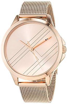 Tommy Hilfiger Reloj Analógico para Mujer de Cuarzo con Correa en Oro Rosa 1781963
