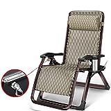 Folding bed-YL Stabiler Metallrahmen- Klappstuhl Stetig Vierkantrohr Sessel Mehrere Verstellbare Zahnräder Bett und Stuhl Dual Zweck -Kleines Einzelbett (Farbe : C)
