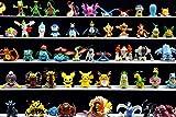 #10: Pokemon Action figure - 24pcs Set - Random characters - Size 1- 1.5 inches
