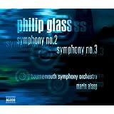Philip Glass : symphonies n° 2 et n° 3