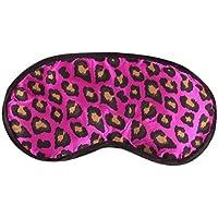 Hunpta, sexy Schlafmaske im Leoparden-Muster, Augenbinde, Lichtschutz, Hilfe fürs Einschlafen, aus Satin, lila preisvergleich bei billige-tabletten.eu
