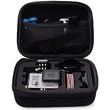 VOSMEP Case Funda Caso Bolso Portátil de Viaje Caja a Prueba de Golpes de Almacenamiento de Protección Bolsa para GoPro Hero 2 3 3+ SJ4000 SJ5000 Accesorios Cámara (Pequeño) GP5