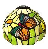 Tiffany Stil e-nta031-u Schmetterling Tisch Lampe/Deckenleuchte Beleuchtung, mehrfarbig, 20,3cm 1Stück