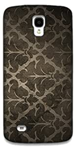 The Racoon Lean Dark Colored Abstract Pattern hard plastic printed back case / cover for Samsung Galaxy S4 Active