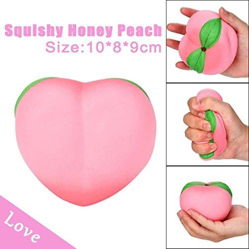 Squishy juguete, 11 cm Galaxy miel melocotón crema...