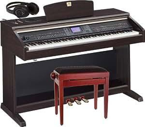 YAMAHA CLAVINOVA CVP-501 + CASQUE + BANQUETTE OFFERTS Piano numérique Piano numérique meuble