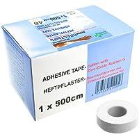 SFM Zink-Oxid Heftpflaster mit Plastikkern in Box, 1cm x 5.0m,(48 St.) preisvergleich bei billige-tabletten.eu