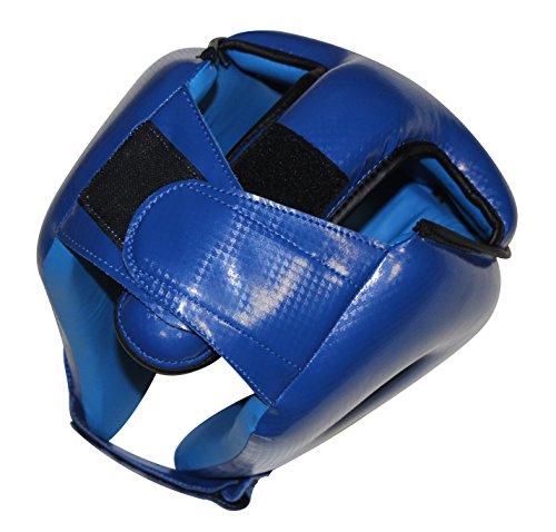 Boxen Kopfschutz, MMA Muay Thai Kickboxen blau Abbildung 2