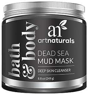 ArtNaturals Totes Meer Schlamm Gesichtsmaske - 100% Naturreine Tiefenreinigung - 250 ml