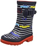 Tom Joule Jungen welly Gummistiefel, Blau (Navy stripe car NAVSTCR), 30 EU (12 UK)