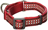 Red Dingo Martingale Reflektierende Knochen 20 mm Choke Halsband