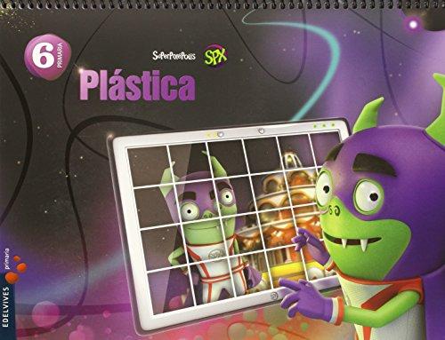 Plástica 6º Primaria (Superpixépolis) - 9788426396655