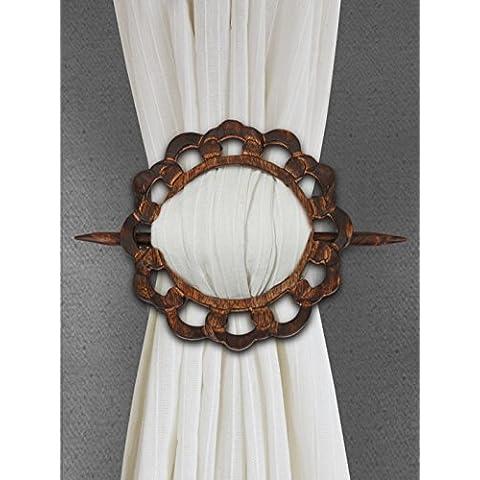 Store Indya, Natale Regali del Ringraziamento decorativi di legno cortina