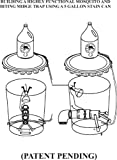 Building a highly functional mosquito and biting midge trap using a 5 gallon stain can.